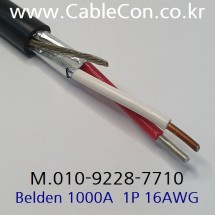 BELDEN 1000A Thermocouple Extension, JX Type 벨덴 30미터