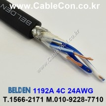 BELDEN 1192A 3미터 벨덴 Microphone Cable