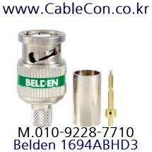 BELDEN 1694ABHD3 BNC 커넥터 벨덴(RG6)