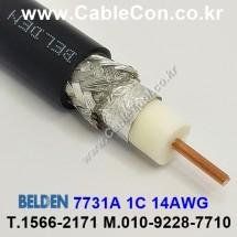 BELDEN 7731A RG-11/U 벨덴 3미터, 75옴 Coaxial Cable