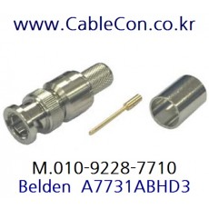 BELDEN A7731ABHD3 BNC 커넥터 벨덴 (RG11)