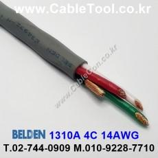 BELDEN 1310A 008(Gray) 4C 14AWG 벨덴 300M