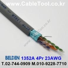 BELDEN 1352A 008(Gray) 4Pair 23AWG 벨덴 300M