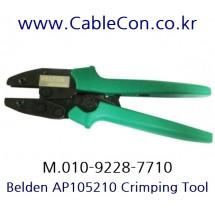BELDEN 1505ABHD3 BNC 압착 툴 세트, BELDEN 1505A BNC Crimp Tool Set