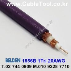 BELDEN 1856B 007(Purple) RG-59/U 벨덴 300M