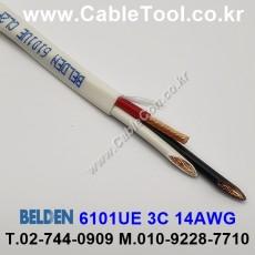 BELDEN 6101UE 877(Natural) 3C 14AWG 벨덴 300M