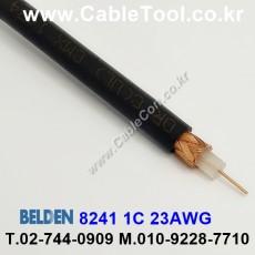 BELDEN 8241 010(Black) 벨덴 300M