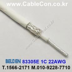 BELDEN 83305E 009(White) 벨덴 150M