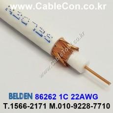 BELDEN 86262 009(White) RG-62/U 벨덴 30M