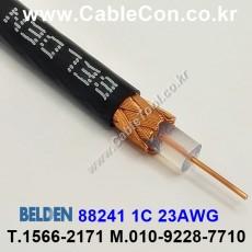 BELDEN 88241 010(Black) RG-59/U 벨덴 3M