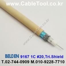 BELDEN 9167 012(Pink) RG-59/U 벨덴 300M