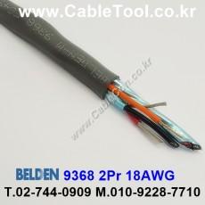 BELDEN 9368 060(Chrome) 2Pair 18AWG 벨덴 150M