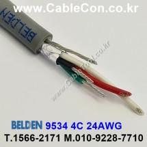 BELDEN 9534 060(Chrome) 4C 24AWG 벨덴 30M