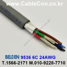 BELDEN 9536 060(Chrome) 6C 24AWG 벨덴 150M