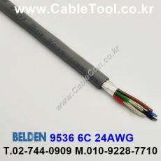 BELDEN 9536 060(Chrome) 6C 24AWG 벨덴 300M
