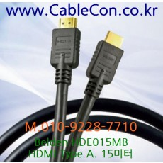BELDEN HDE015MB, HDMI Type A, 15미터